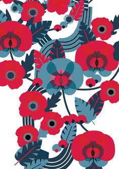 Virginia Woolf on Behance design by  Carlotta Cogliati.