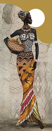 Black is Beautiful African Beauty, African Women, African Fashion, African Children, African American Art, Native American Indians, Afrique Art, African Art Paintings, Black Artwork