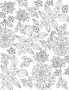 downloadable adult coloring page magic in by liltcoloringbooks colorful flowers adult coloring pages