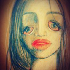"""Melted eyes"" Insomnia insomnia insomnia"