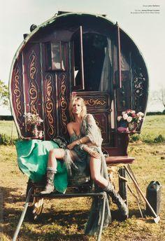 john-galliano-blog: Kate Moss by Iain McKell, V Magazine Fall 2009. John Galliano Fall Winter 2009 Ready-to-Wear