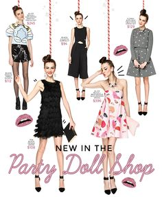 Sub: Party Doll Shop  Be creative!