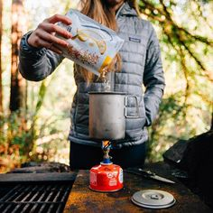 Great article on the best fuel types to use for a #vanlife kitchen setup! Who knew you could use propane to cook (and bake!) easy camping recipes on the road. These cooktops would make the perfect layout in any interior van build. via @parkedinparadise Camping Recipes, Camping Meals, Life Kitchen, Kitchen Layout, Van Life, Energy Drinks, Cooking, Inspiration, Camp Meals
