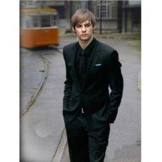 All Black Tuxedo Suit, Shirt, Jacket, & Tie