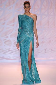 Catwalk photos and all the looks from Zuhair Murad Autumn/Winter 2014-15 Couture Paris Fashion Week