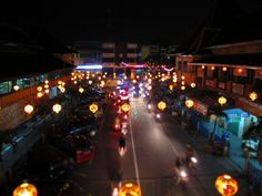 China Town in Solo, Indonesia :D
