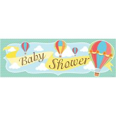 Up Up & Away 20 x 60 Inch Baby Shower Giant Party Banner/Case of 6 Tags: Up Up & Away; Giant Banners; Baby Shower; baby shower party ideas;baby shower giant banners;baby shower party decorations;baby shower decorations; https://www.ktsupply.com/products/32786323785/Up-Up--Away-20-x-60-Inch-Baby-Shower-Giant-Party-BannerCase-of-6.html
