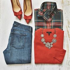65 Super Ideas For Style Preppy Winter Blouses Mode Outfits, Casual Outfits, Fashion Outfits, Womens Fashion, J Crew Outfits, Preppy Fall Outfits, Fashionable Outfits, Casual Clothes, Fashion Shoes
