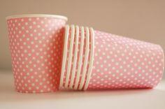 sweet, pink cup, retro, vintage