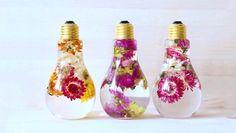 Çiçek Ampulü İle Yaşam Alanınızı Canlandırın: Kendin Yap Projesi