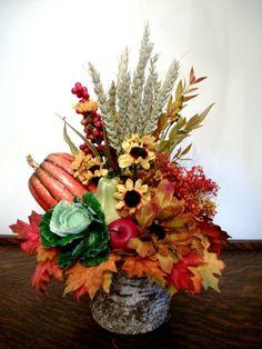 resultat duimatges de centro de mesas con flores secas
