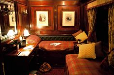 stateroom on Royal Scotsman...Bucket List Item: Riding the Rails