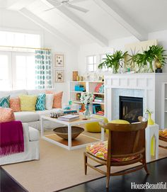 Family Decorating Ideas - Kid and Family Friendly Decorating - House Beautiful