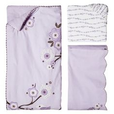 MIGI Migi Blossom 3 pc Crib Set - Lilac