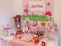 Peppa Pig Birthday Party Ideas | Photo 7 of 14 | Catch My Party