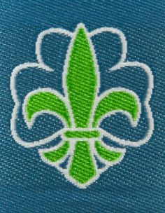 Membership ribbon for the Norwegian Scouts and Guides Gs World, World Thinking Day, Girl Scouts, Cactus Plants, Norway, Badges, Ribbon, Tape, Girl Guides