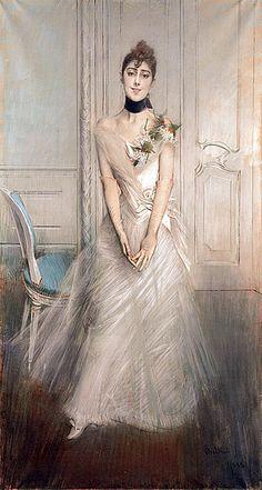 Portrait of Emiliana Concha de Ossa: ca 1870. Giovanni Boldini