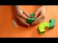 Origami Tubular Structure Tutorial (Martin Sejer Andersen) - YouTube