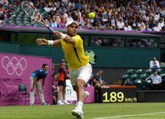 London Olympics Tennis Men - 42-35678416 - Rights Managed - Stock Photo - Corbis