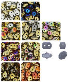 Découvrez les nouvelles couleurs des rocailles Matubo SuperDuo ! A partir de 2,60€ shoppez les ici >>> http://www.perlesandco.com/Matubo_SuperDuo-c-55_2819_1905.html
