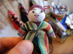 GlobeIn: Handmade Tiny Tajik Fabric Dolls