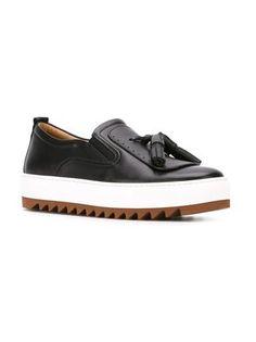 Salvatore Ferragamo platform loafers