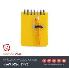 Artículos Promocionales - Productos Publicitarios - Libreta con Bolígrafo