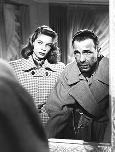 Lauren Bacall and Humphrey Bogart in Dark Passage (1947)