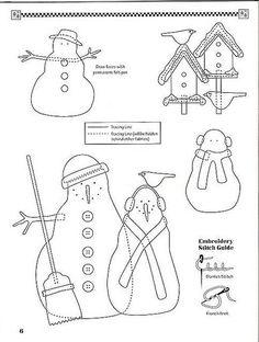 Debbie Mumm - Frosty Folks