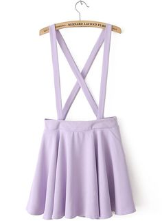 Overall Skirt in Lilac