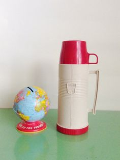 Vintage Red and White King Seeley Thermos by AirFare on Etsy White King, Red And White, Unique Jewelry, Handmade Gifts, Vintage, Etsy, Kid Craft Gifts, Craft Gifts, Costume Jewelry