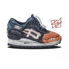 #sneakerart #artist @bomsterjabs_studio