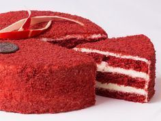 """Cake """"Red Velvet"""" – a step-by-step recipe in … - Red Velvet Cake Apple Desserts, Fun Desserts, Brownie Recipes, Cake Recipes, Velvet Cake, Red Velvet, Cake Cookies, Cupcakes, Death By Chocolate Cake"""