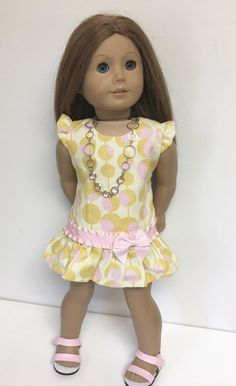 18 Doll Clothes fit American Girl Doll  by Lillyblumedesigns