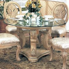 Yuan Tai Furniture 5984TB-LITE Emily Dining Table