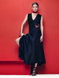 masha novoselova by léa nielsen for l'officiel paris november 2015 | visual optimism; fashion editorials, shows, campaigns & more!