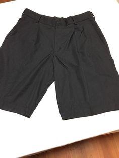 f2615c0273 NWOT MENS NIKE GOLF DRESS SHORTS SIZE 32 BLACK PLEATED | eBay Short  Dresses, Nike