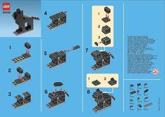 Mini Brick Spot: Lego Mini Black Cat - 40042