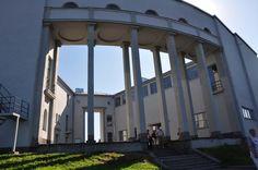 Viipurin taidemuseon sisäpiha v. 2011