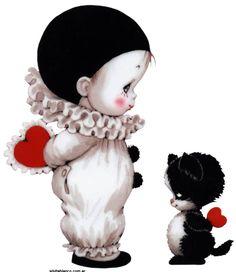 san valentin pierrot ruth morehead