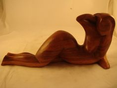 Bali          Hand Carved Wooden Abstract Art