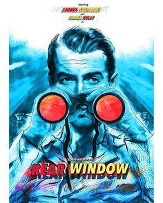 Rear Window x 1980's Movies, Film Movie, Horror Movies, Movies To Watch, Superhero Poster, Minimal Movie Posters, English Movies, Alternative Movie Posters, Alfred Hitchcock