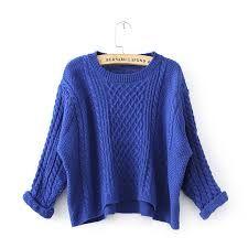 Resultado de imagen para ropa de lana mujer