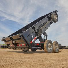 This is the most thorough and comprehensive guide to dump trailers on the planet. Trust us, we checked. 5th Wheel Trailers, Dump Trailers, Flatbed Trailer, Atv Trailers, Work Trailer, Trailer Build, Utility Trailer Accessories, Truck Accessories, Vacation Mood