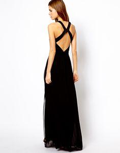 Long dress back detail maxi