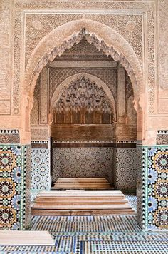 Morocco Travel Inspiration - Tombeaux Saâdiens, Marrakech