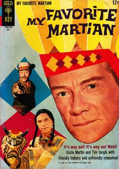 My Favorite Martian, July. #vintage comics covers