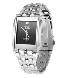Loved it: Tropez Black Dial Silver Chain Watch for Men, http://www.snapdeal.com/product/tropez-black-dial-silver-chain/1590999912