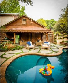 Moss Filled Paver Patio. Pool Environments, Dallas.