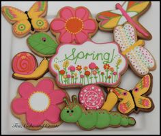 Tea, Cake & Create: Spring Cookies and Royal Icing